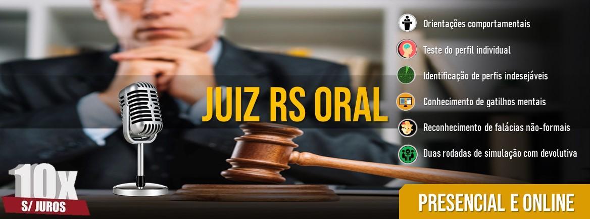 Juiz Oral